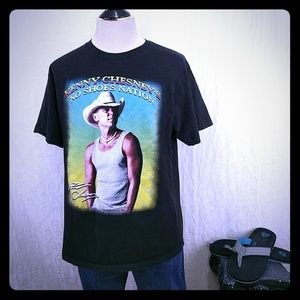 Kenny Chesney No Shoes Nation 2013 Tour Tee Shirt